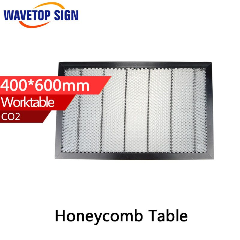 CO2 50W 60W Tube Laser Engraver Cutter Honeycomb Work Bed Table Platform 6040 400mm*600mm 6347 size 630mm* 470mm