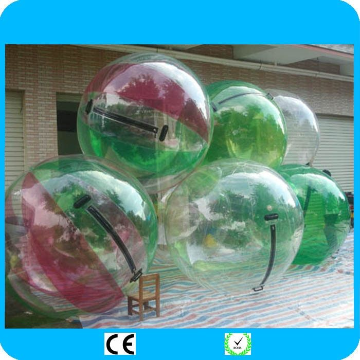 2018 Fede Inflatable Water Walking Ball Water Rolling Ball Water Balloon Zorb Ball Inflatable Human Hamster Plastic Freeshipping
