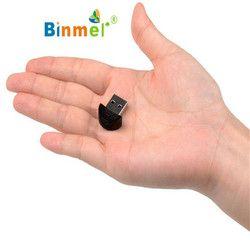 Ecosin2 Nouveau Mini USB Bluetooth Dongle Adaptateur pour PC Portable Win Xp Win7 8 Pour iPhone 4GS 5GS Drop Shipping Cadeau 17mar22