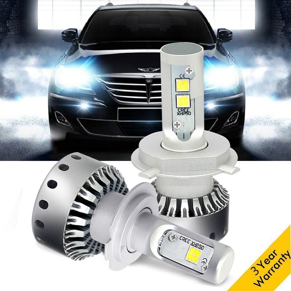 DLUMINA H7 LED H4 Car Headlight Bulb Lamp Mini Size h11 h1 h3 12V 60W 8000LM h13 9005 9006 Auto Headlamp Fog Light