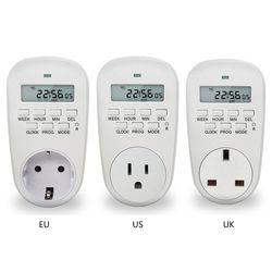 UE/US/UK Plug Smart Power Socket Minuterie Numérique Commutateur D'économie D'énergie Réglable Réglage Programmable de Horloge/sur/Off Temps