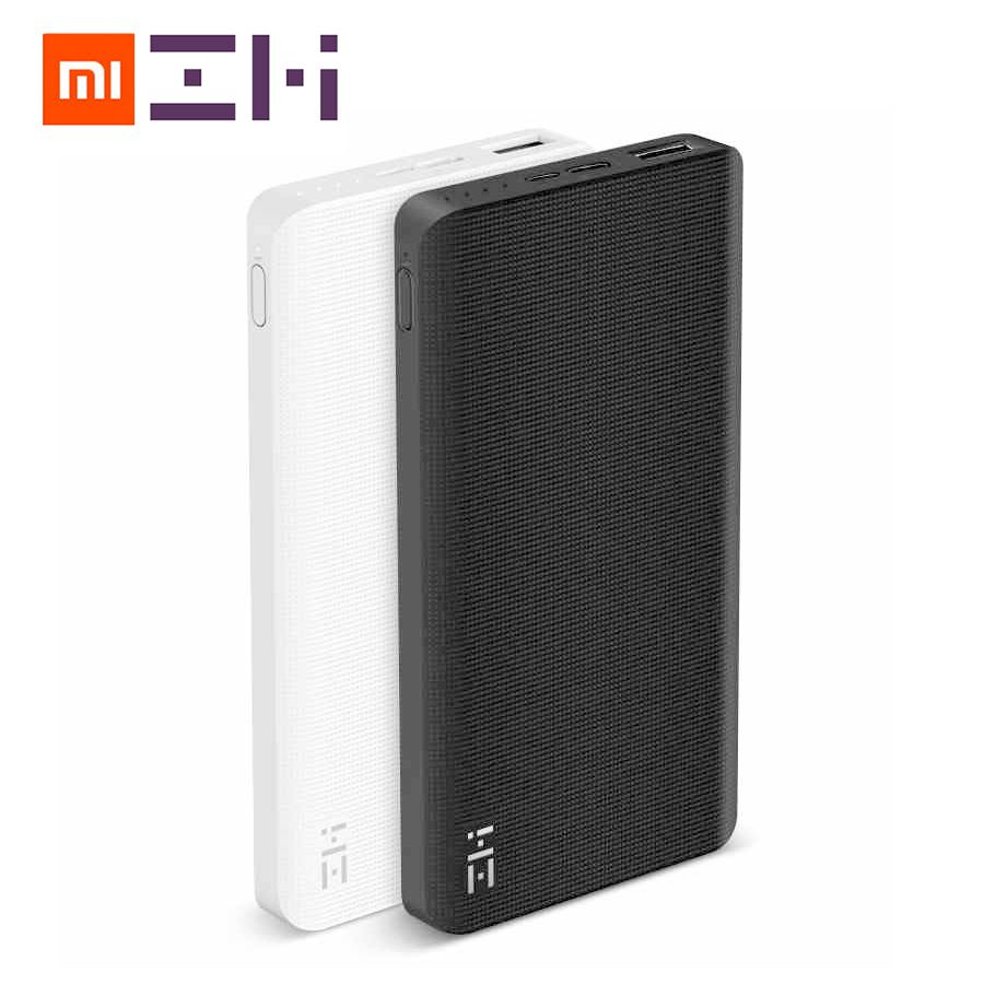 Original Xiaomi ZMI 10000 mAh Power Bank 10000mAh Powerbank Two-way Quick Charge 2.0 with Type-C Charger for iPhone iPad Samsung