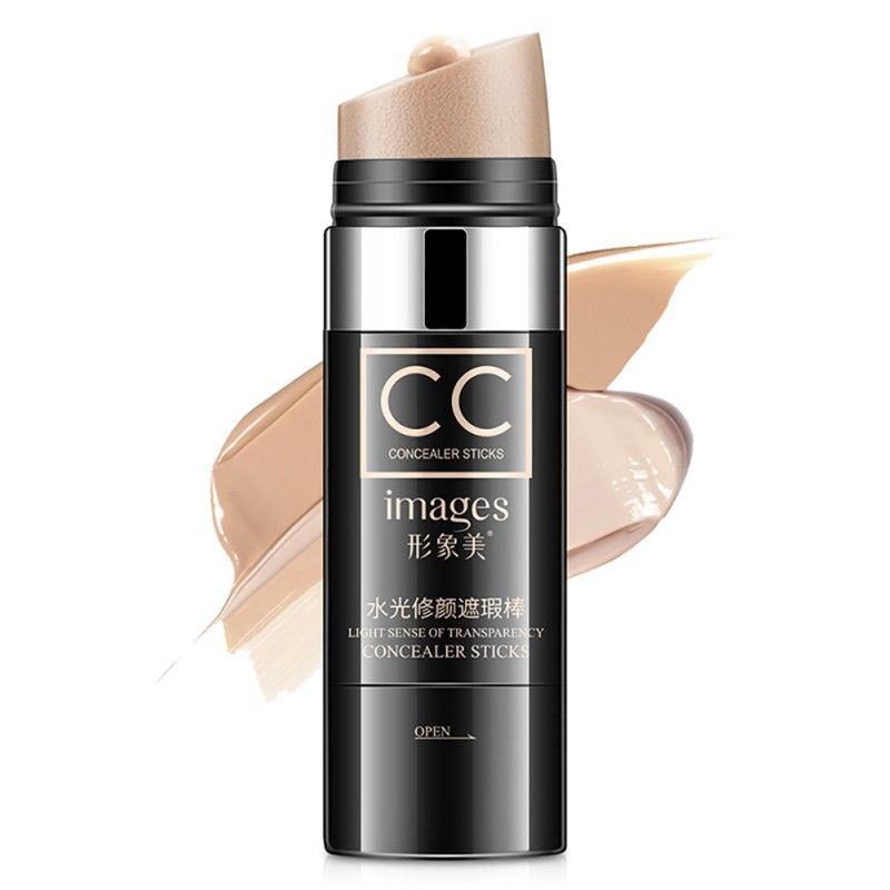 Face Natural Air Cushion CC Moisturizing Foundation Makeup Cover Up Waterproof Whitening Concealer Stick Brighten Skin Color