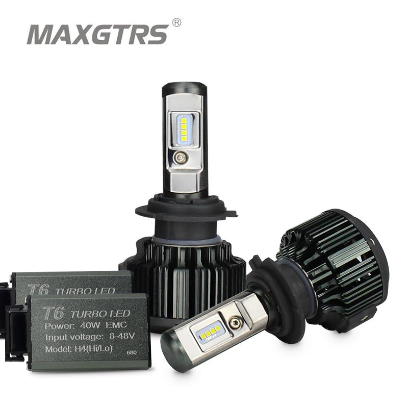 MAXGTRS H1 H3 H4 H7 H8 H11 9005 9006 9012 HB3 HB4 H13 9004 9007 880 881 Voiture ampoules de phares LED 70 W CSP LED Phare Feu Avant