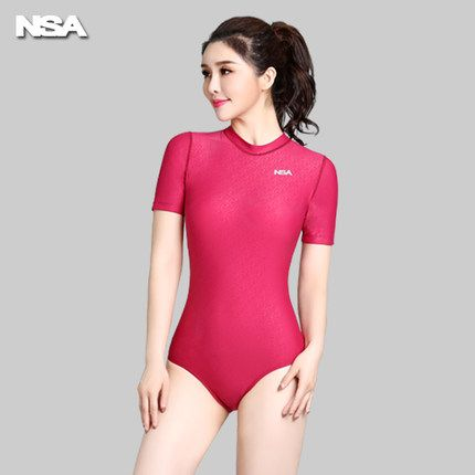 NSA Arena Swimwear Women One Piece Swimsuit For Girls Women's Swimsuits Competitive female Water polo women's bathing suit