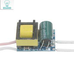 4-5 Вт светодиодный адаптер питания драйвера DC12-18V AC90-265 в постоянного тока 240-300ма трансформатор для 5050/3528 светодиодной ленты