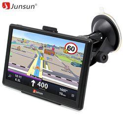 Junsun 7 pouce Voiture GPS Navigation FM MP3/MP4 Joueurs Amérique Du Nord Carte Mise À Jour Gratuite Camion gps navigateurs Sat nav automobile