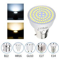 Светодиодный GU10 прожекторная лампа, лампа «Кукуруза» MR16 прожекторная светлая лампочка светодиодный Ampolletas GU5.3 220 V E27 Bombillas светодиодный E14 ам...