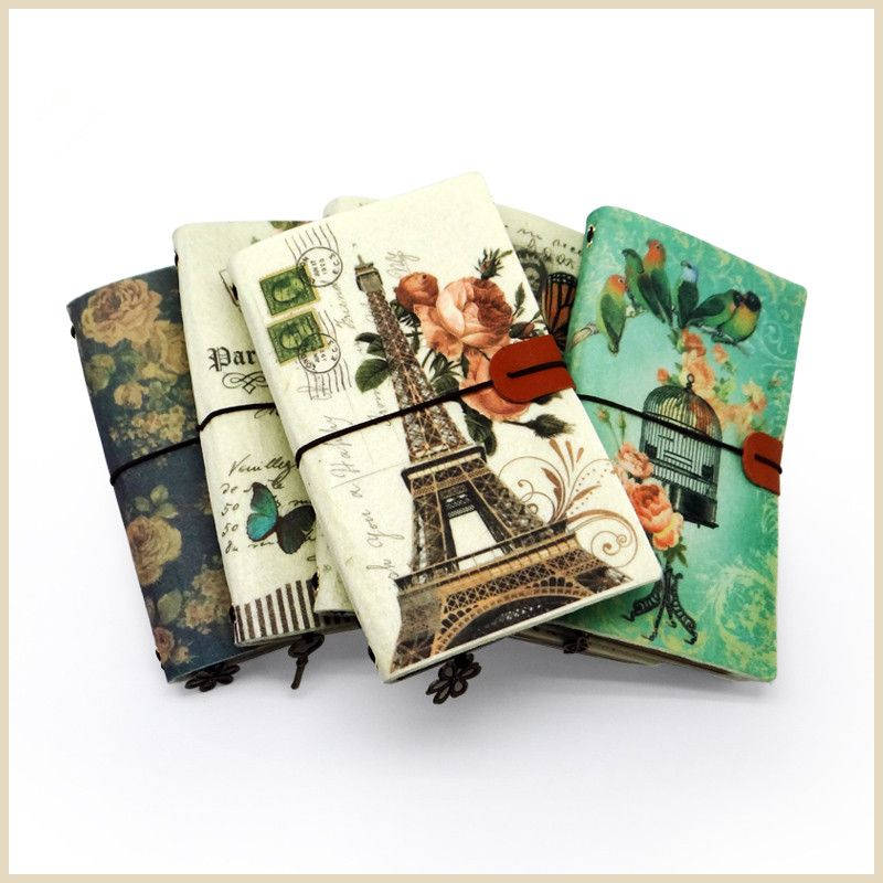 Творческий Ретро ноутбук, дневник блокнот, путешествия журнала, Книги по искусству стиль Календари ноутбук, планировщик дневник Офис Школь...