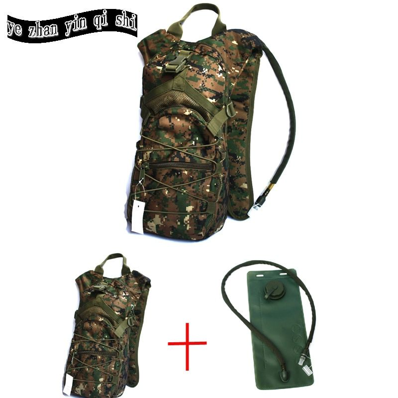 Hot sell  Outdoor 3L Hydration backpack outdoor camping climbing hiking water bladder hydration water bag tactical water bag