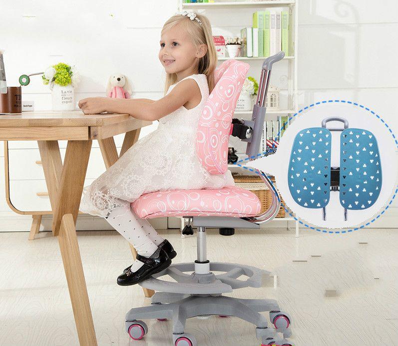 Hohe qualität doppel zurück heben stuhl für kinder studie studie schreibtisch stuhl zurück computer student stuhl