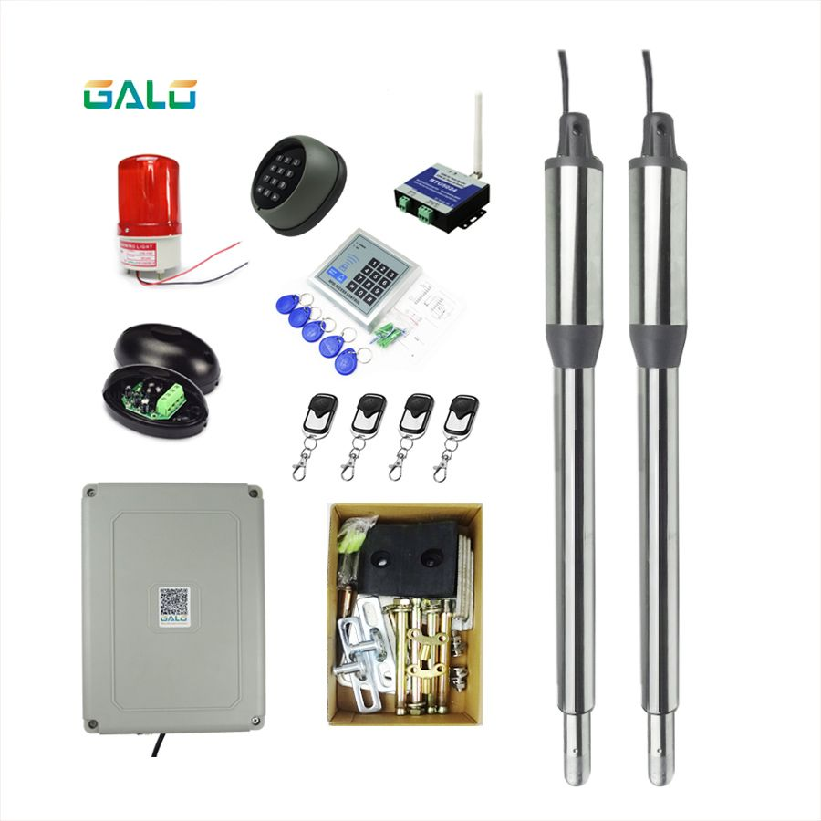 GALO AC220V/AC110V swing gate actuator motor for home Gates smart contrl automatic gate opener full kits Optional