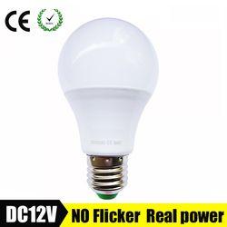 E27 LED Bulb Lights 3W 6W DC 12V Led Lamp 9W 12W 15W Energy Saving Lampada 12 Volts Led Light Bulbs for Outdoor Lighting