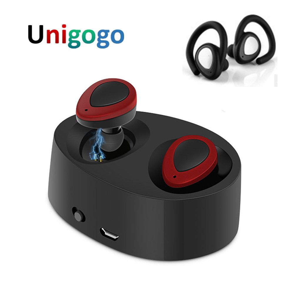 K2 TWS Mini Ture Wireless Earbuds Bluetooth Earphone Blutooth Headphones Cordless Sport Headset with Mic Charger Box for Phone
