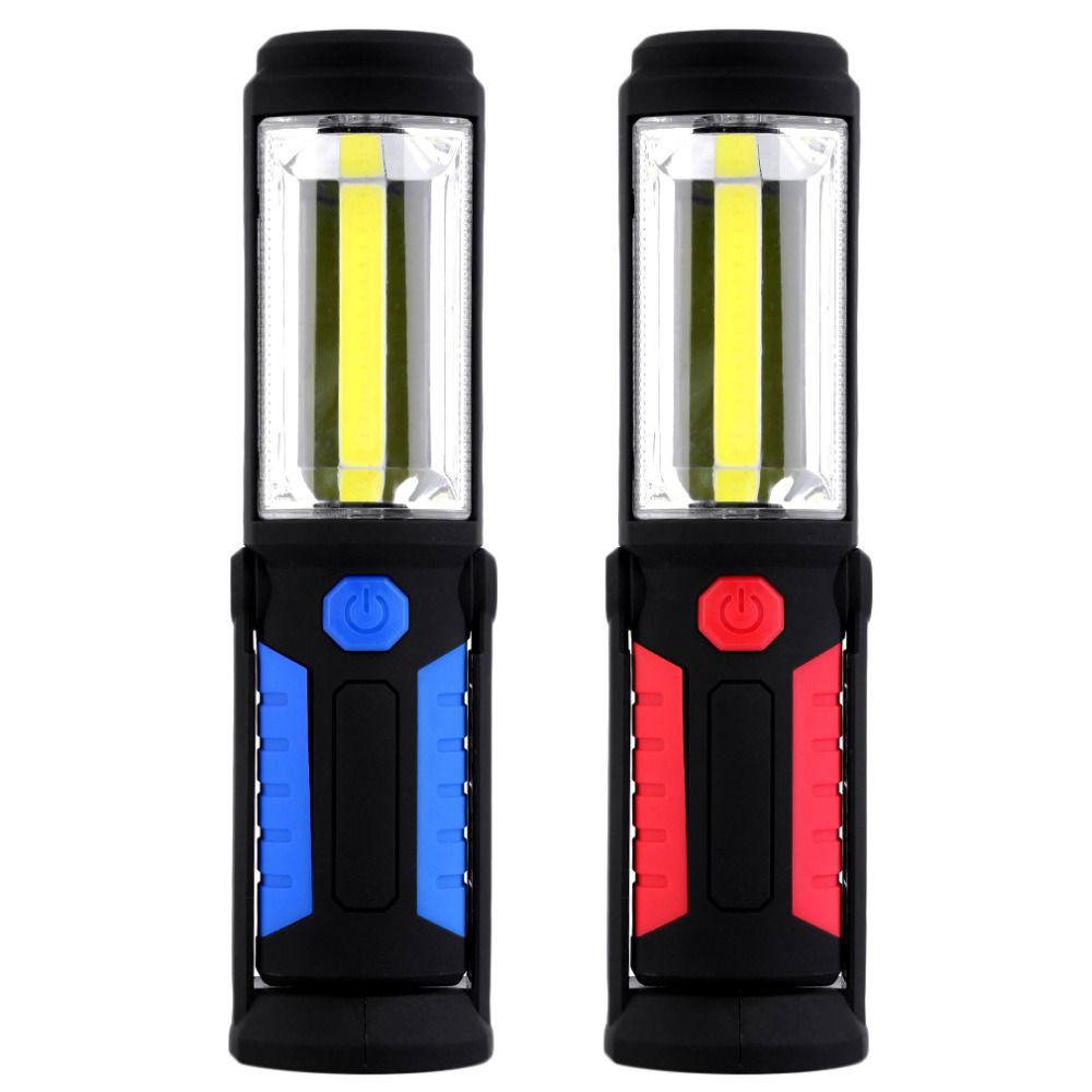 2 Modes COB Outdoor Camping Light Magnetic Hanging Hook <font><b>Lamp</b></font> Emergency Torch Light Waterproof 5W 350 Lumens LED Work Hand <font><b>Lamp</b></font>