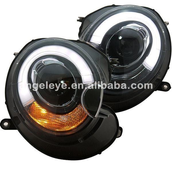Für BMW MINI Kupfer Clubman R55 R56 R57 LED Kopf Licht für original-auto keine HID 2007-2013 jahr SN
