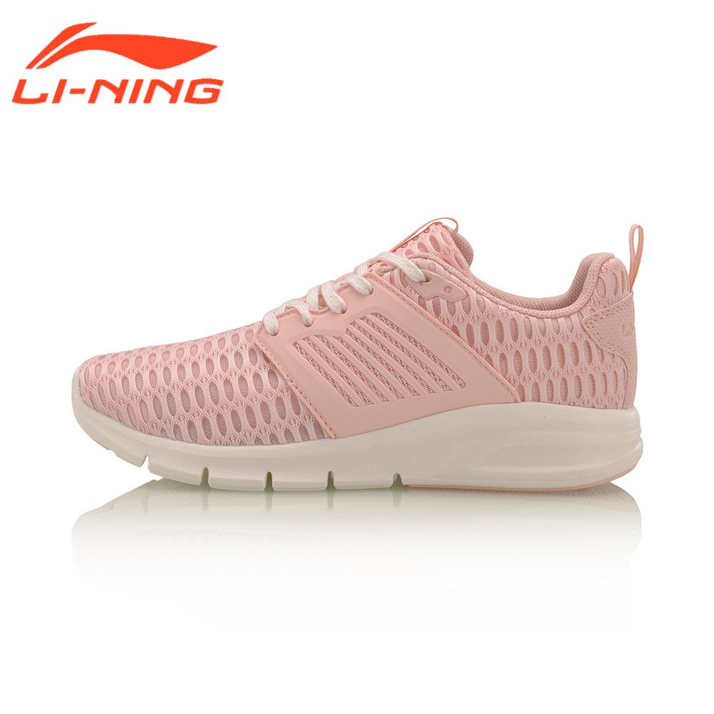 Li-Ning Women's Bullet Classic Walking Shoes Breathable Lightweight Shoes LiNing Sports Sneakers AGCM126