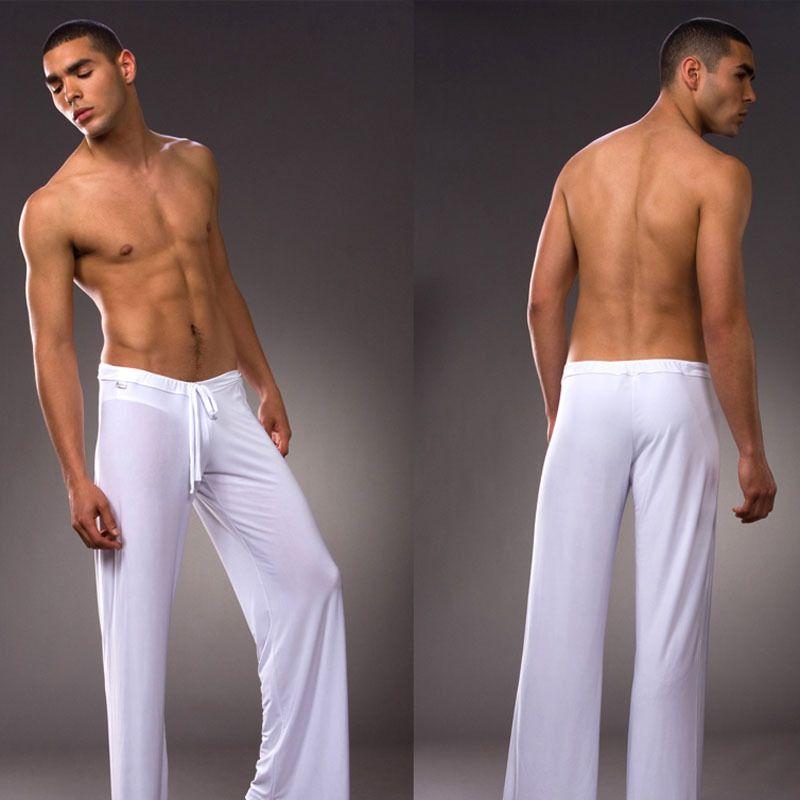 Pantalones de los hombres pantalones de pijama Sueño bloomers danza pantalones harem ocasional