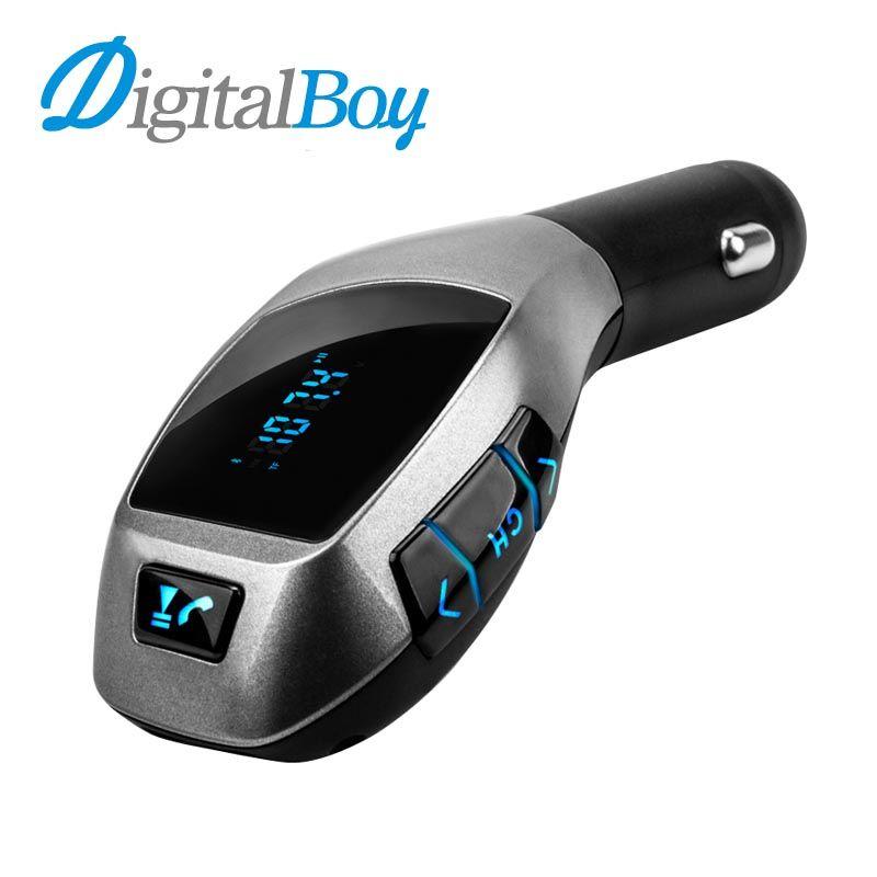 Bluetooth Car Kit Wireless Fm Transmitter Radio Adapter FM Modulator Handsfree Music Mp3 Usb Player Audio For Smartphone