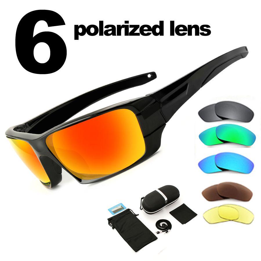 NEWBOLER Polarized Fishing Sunglasses Camouflage Frame Sport Sun Glasses Fishing Eyewear Oculos De Sol Masculino UV 400
