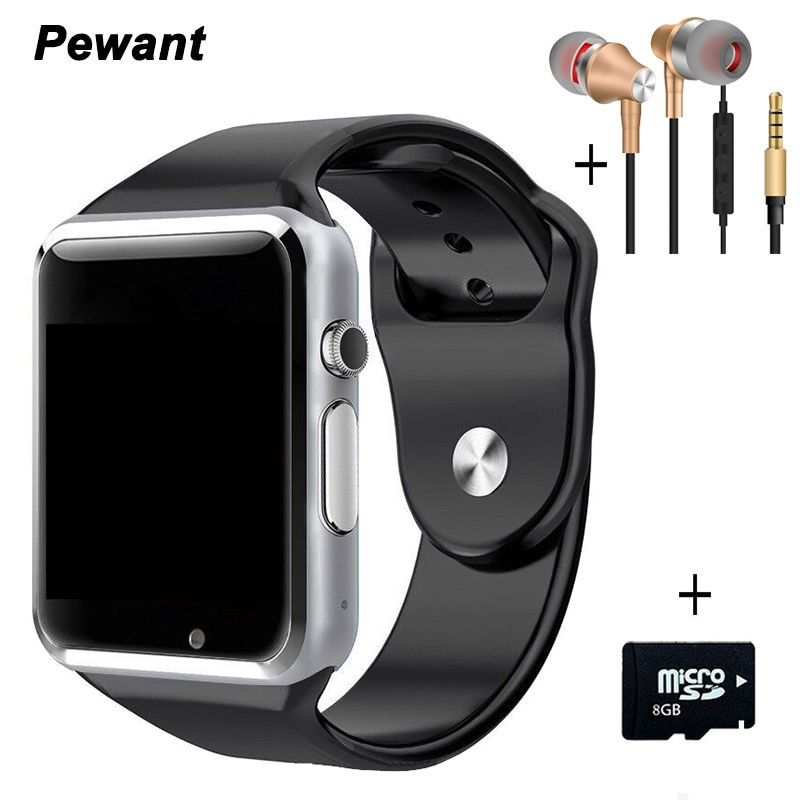 Meilleur Vendeur Bluetooth Android Montre Smart Watch A1 W8 Smartwatch Passometer Message Sync Intelligente Horloge Avec Caméra SIM TF Carte Smartwach