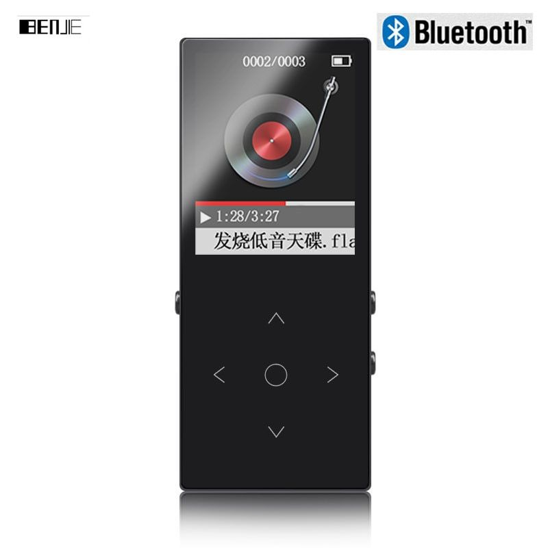 Оригинальный Сенсорный экран 8 ГБ Bluetooth MP3 плеера Высокое качество без потерь сплав металла Средства ухода за кожей Поддержка 128 ГБ карты пам...