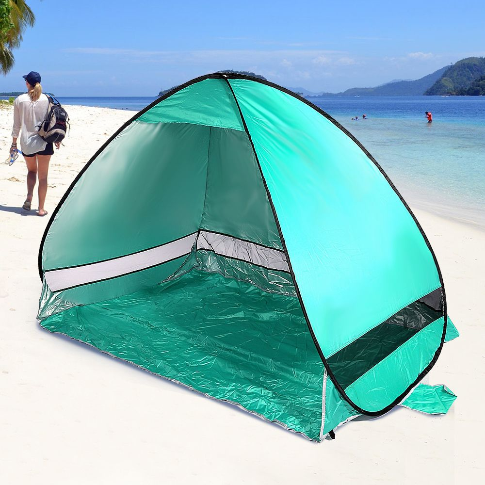1-2 persons Camping Tent Automatic Sun Shelter Tabernacle Quick  Pop Up Four-season Tent Single Water Resistant Large Space