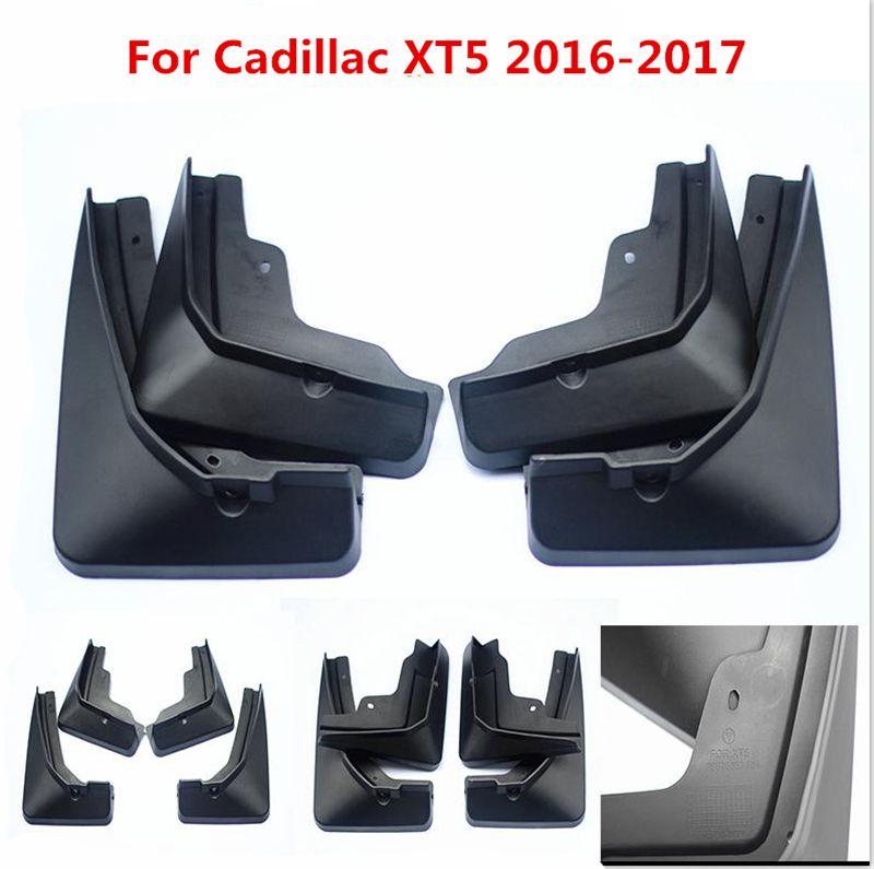 4 Stücke Für Cadillac XT5 2016 2017 Schwarz Vorne Hinten Geformt Auto Schmutzfänger Schmutzfänger Kotflügel Schmutzfänger Kotflügel