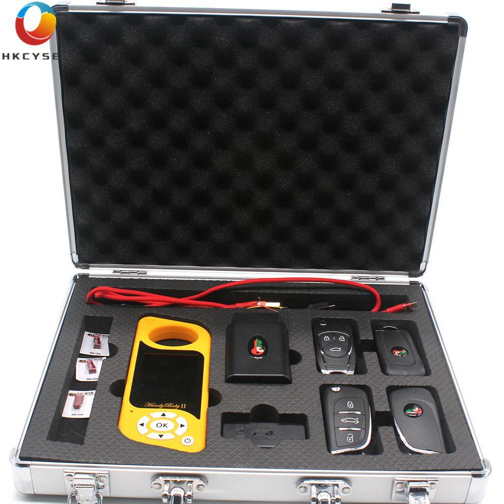 JMD Handliche Baby 2 Bluetooth Auto Schlüssel Kopie für 4D/46/48 König Rot Chip mit JMD OBD englisch/Spanisch/Portugues/Russische Programmierer