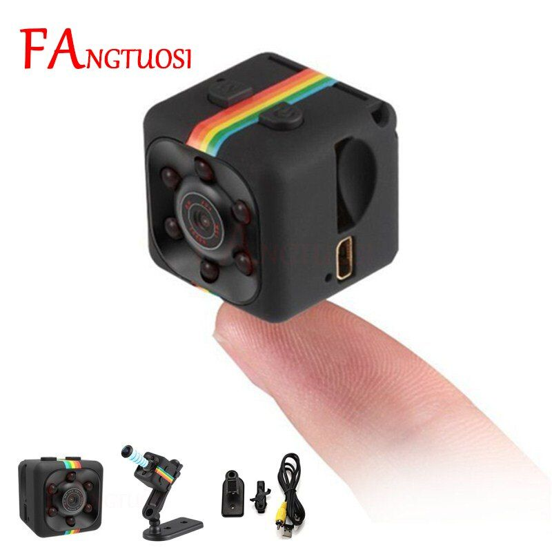 FANGTUOSI sq11 Mini caméra HD 1080 P capteur Vision nocturne caméscope mouvement DVR Micro caméra Sport DV vidéo petite caméra cam SQ 11