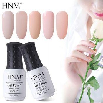 HNM 8ML Gel Varnish UV LED Light Color Nail Gel Stamping Nail Art Paint Gel Nail Polish Hybrid Varnish Summer Gellak Gelpolish
