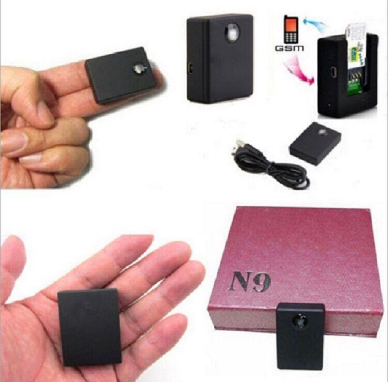 Meilleur N9 GSM GPS Tracker D'écoute Audio Dispositif de Surveillance Deux-Way Auto Réponse et Cadran Audio Dispositif