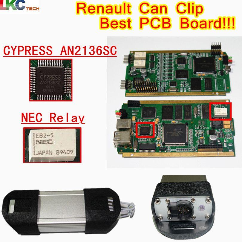 Best Re-nault Can Clip Full Chip CYPRESS AN2135/2136 SC Chip V178 OBD2 Diagnostic Tool For Re-nault Code Scanner