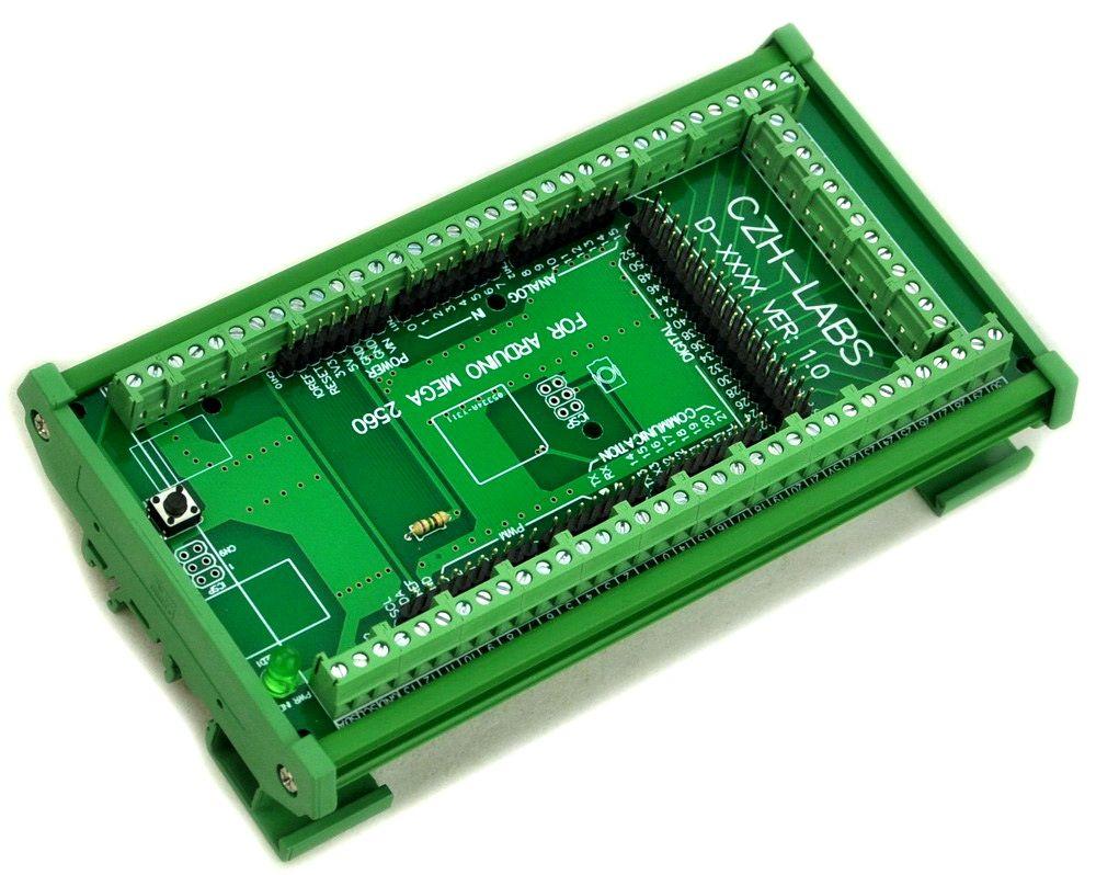 Din-schiene Schraubklemmenblock Adapter Modul, für MEGA-2560 R3.