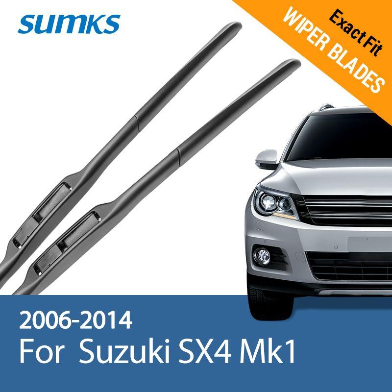 SUMKS Wiper Blades for Suzuki SX4 Mk1 26