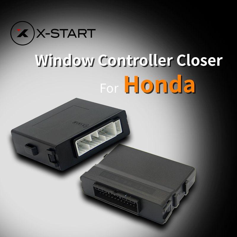 X-Старт автомобилей Мощность автоматический roll up окна ближе для бутылок в одно касание вверх-вниз для Honda CR-V civic City Accord XR-V Spirior vezel