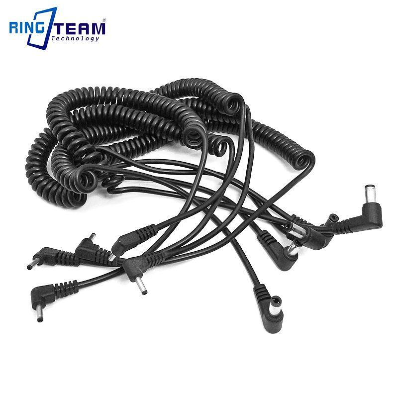 5Pcs 5.5x2.5mm Power Bank DC Cable PS700 for LP DR E5 E8 E10 E12 E15 E17 DRE8 DRE10 DRE12 DRE15 DRE17 DR50 DR80 DR700 Coupler