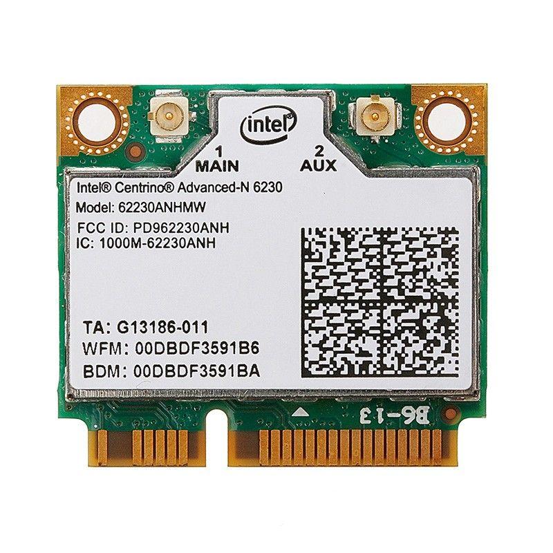 Intel Centrino Advanced-n 6230 802.11 abgn 2x2 JP2 WiFi & BT Combo carte