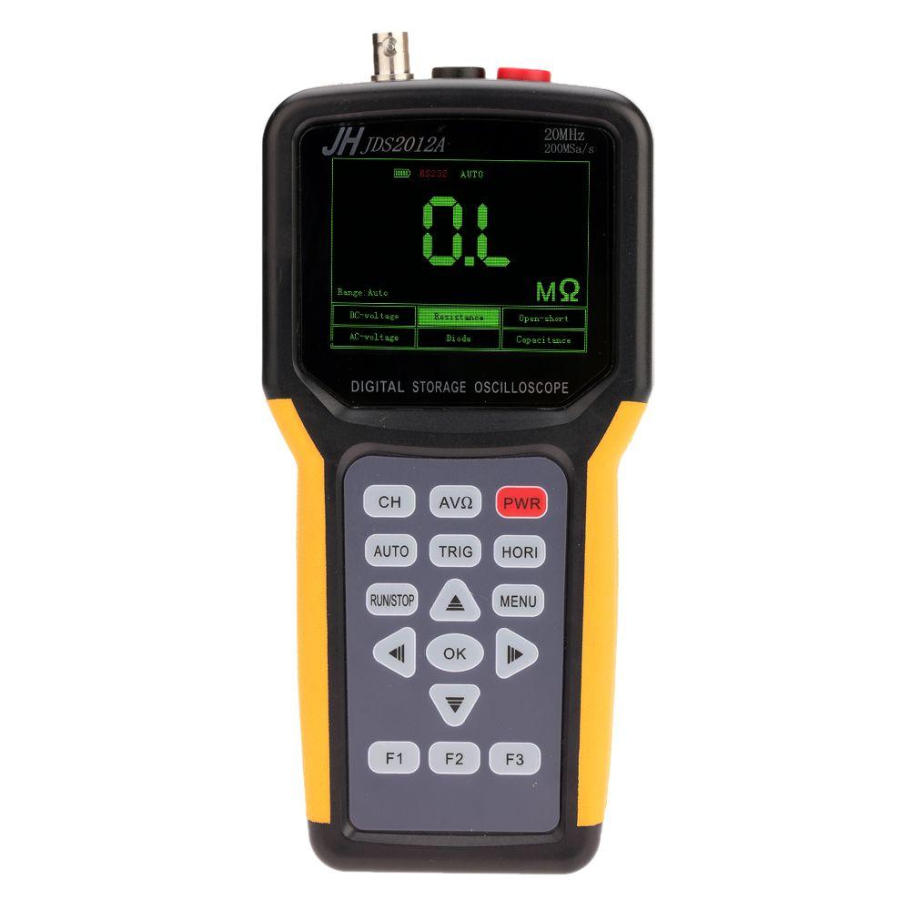 Jinhan JDS2012A Handheld Oscilloscope 1 Channels 20MHz oscilloscope with 4000 multimeter
