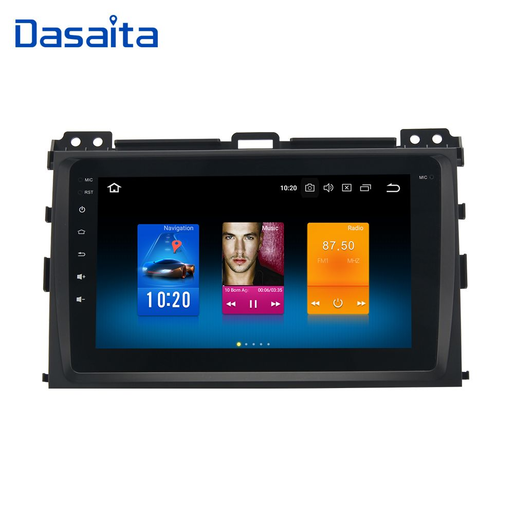 Car Multimedia System Android for Toyota Prado 120 2004 2005 2006 2007 2008 2009 Android 8.0 4G RAM 32G ROM