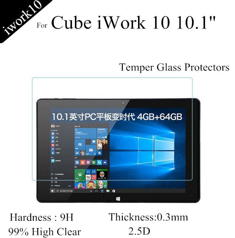 Für iwork10 Glas Display-schutzfolien Für Cube iwork 10 Gehärtetem Glas Für iwork 10 schutzfolien 0,3mm explosionsgeschützte