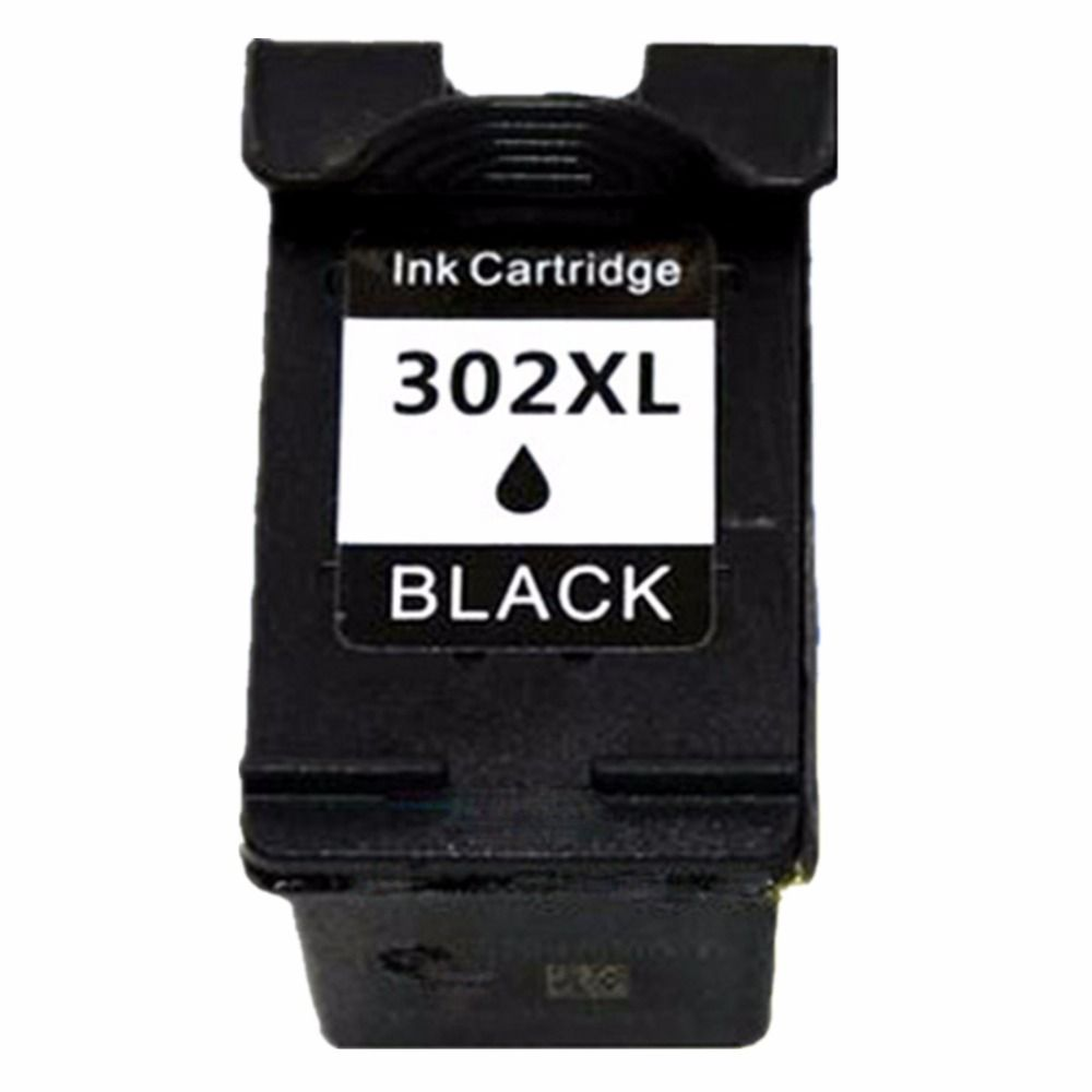 1 Black Ink Cartridges  Cartridge For HP 302 XL HP302 HP302XL 302XL Envy 4516 4520 4522 4523 4524  E-All-in-One Inkjet Printer