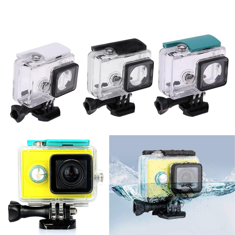 45M Underwater Diving Waterproof Case for Xiaomi Yi 1 Sports Waterproof Box for Xiaomi yi 1 Action camera Protective