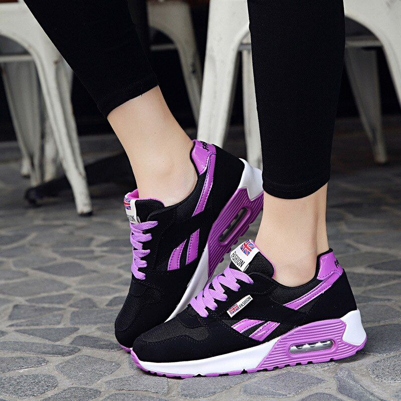 Running Shoes for Women 2018 Lightweight Outdoor Sneakers Breathable Walking Sport Trainers Fitness Shoes Platform Sneakers