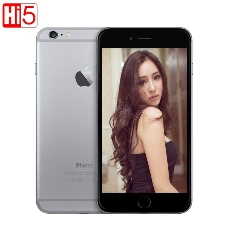 Unlocked Apple iPhone 6 WI-FI 4.7'' Screen 16G/64GB/128GB ROM Dual Core IOS 8MP Camera 1080P 4K video LTE mobile phone