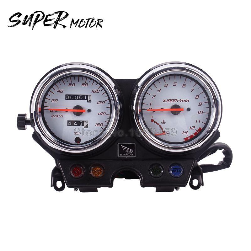 Motorrad Tachometer Drehzahlmesser Messinstrument-lehre Odometerinstrument montage Für Honda VTR250 VTR VT250 2004 2005 2006 2007