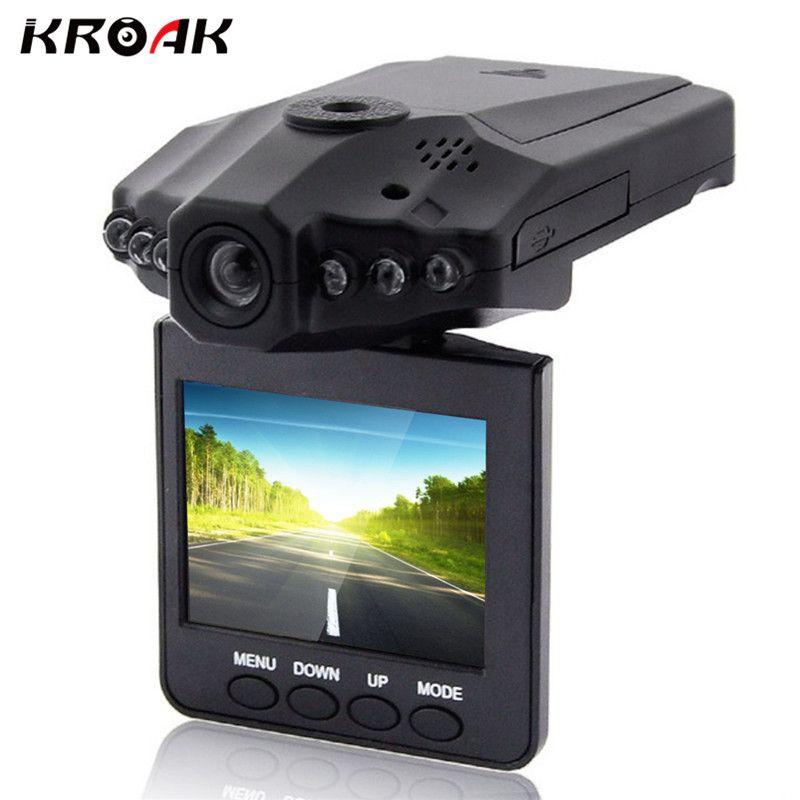 KROAK 2.'' FHD 1080P Car DVR Camera Video Recorder DVR Vehicle Dash Cam Registrator <font><b>Registrar</b></font> Night Vision