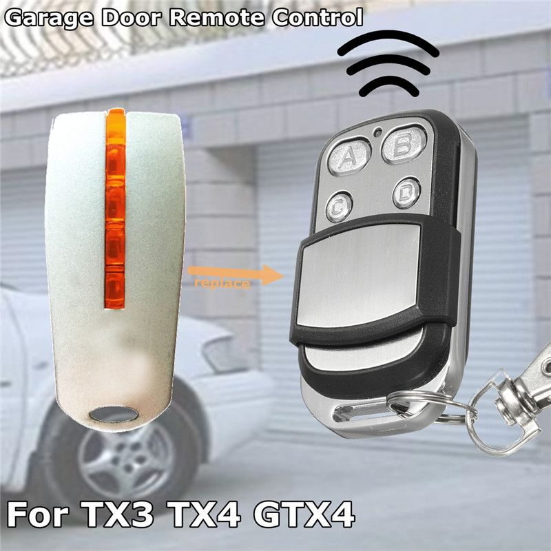 Portable Garage Door Gate Remote Control Key 433.92Mhz 4B Universal Car Gate Opener Key Fob For Mhouse MyHouse TX4 TX3 GTX4