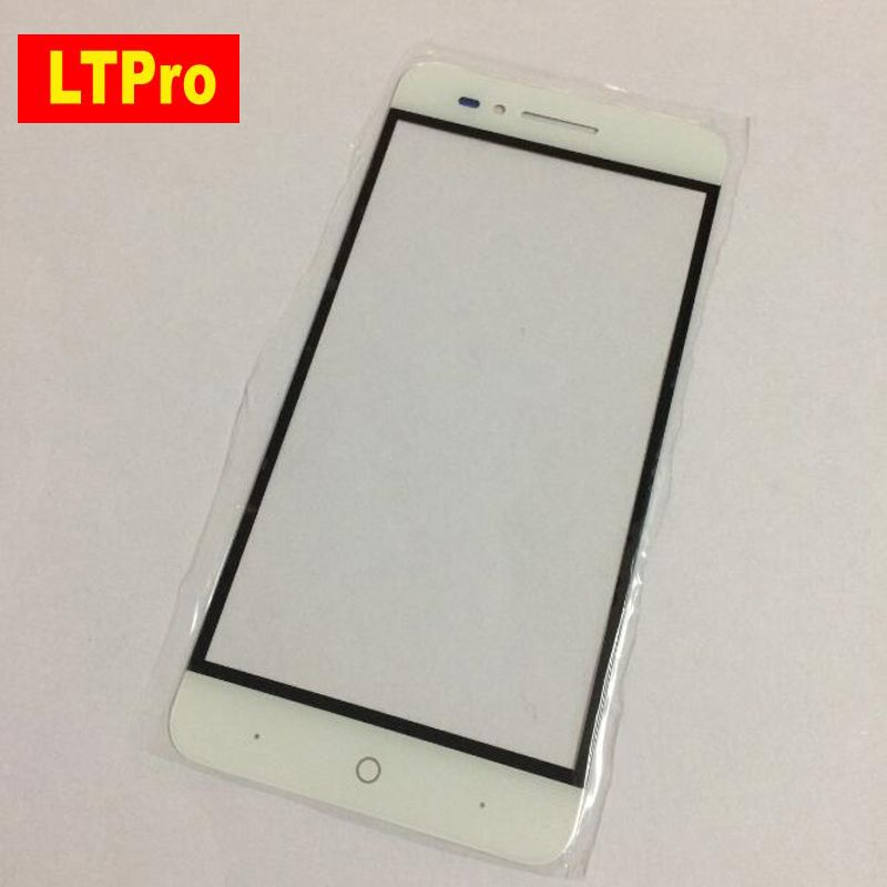 LTPro Top Quality Good Working Glass Front Panel Outer Touch Screen For ZTE Voyage 4 Blade A610 TD-LTE Mobile Phone Replacement