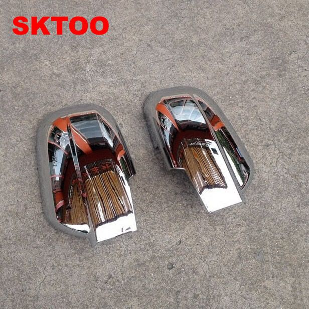 SKTOO Fit For 2004-2008 Old Tucson Rearview Mirror Cover / mirror cover